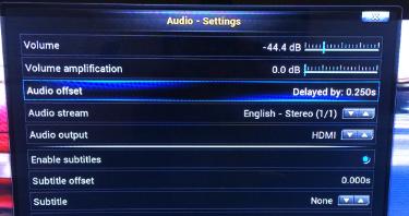 xbmc-audio-offset