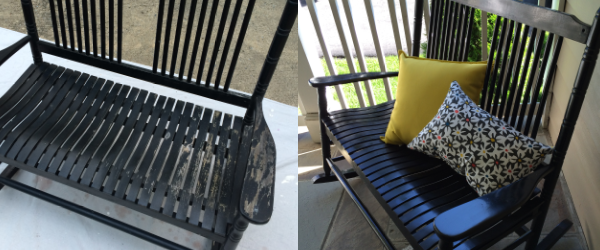 spray-paint-rocking-chair