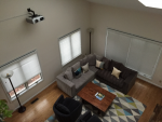 living-room-projector